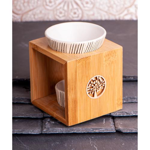 "Bambus-Aromalampe ""Yggdrasil"", Produktbild 2"