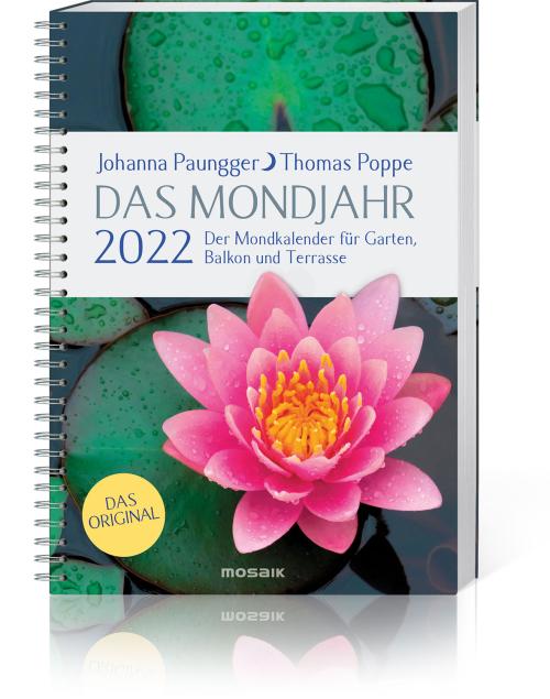 Das Mondjahr 2022 – Garten-Spiralkalender, Produktbild 1