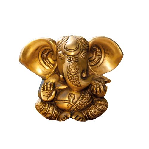 Ganesha aus Messing, Produktbild 1