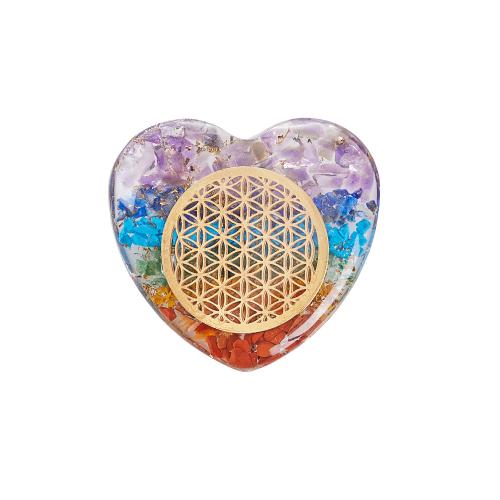 """Pranamit-Chakra-Herz """"Blume des Lebens"""", Produktbild 1"""