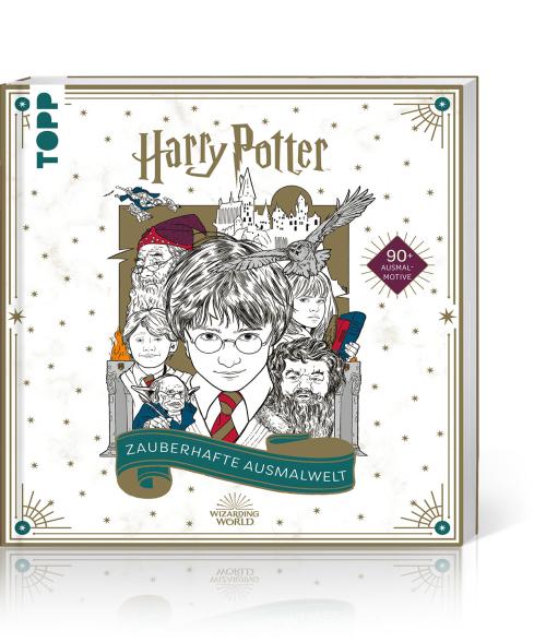 Harry Potter – Zauberhafte Ausmalwelt, Produktbild 1