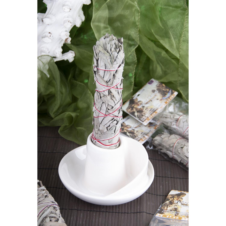 Räucherschale für Weißen Salbei, Weiß, Produktbild 2