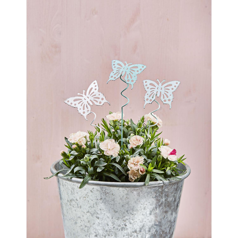 """Pflanzenstecker """"Schmetterlinge"""", 3er Set, Produktbild 2"""