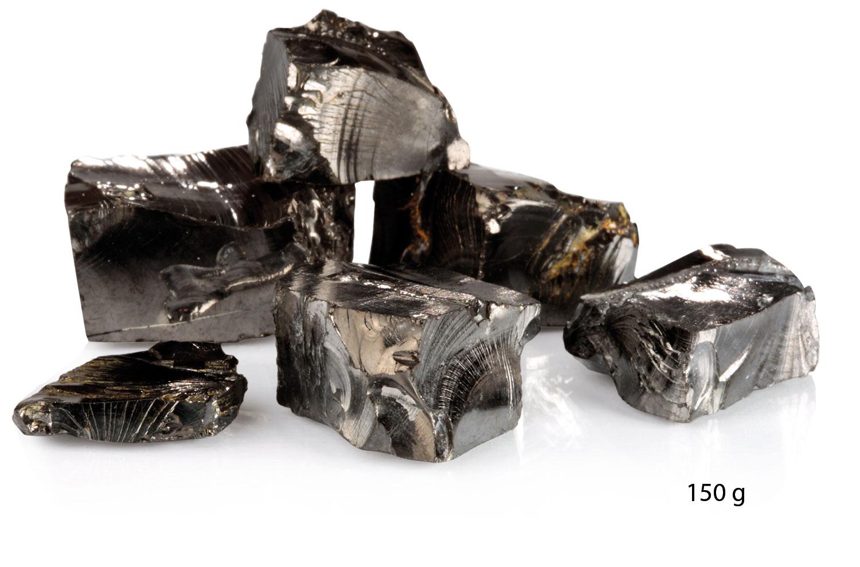 Edel-Schungit-Kristalle, Produktbild 4