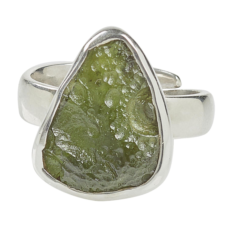 Ring Moldavit-Rohstein, Produktbild 2