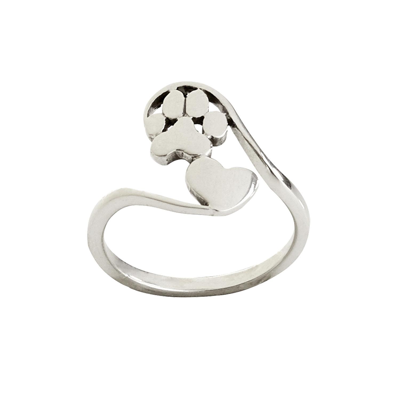 """Ring """"Pfote im Herz"""", Produktbild 1"""