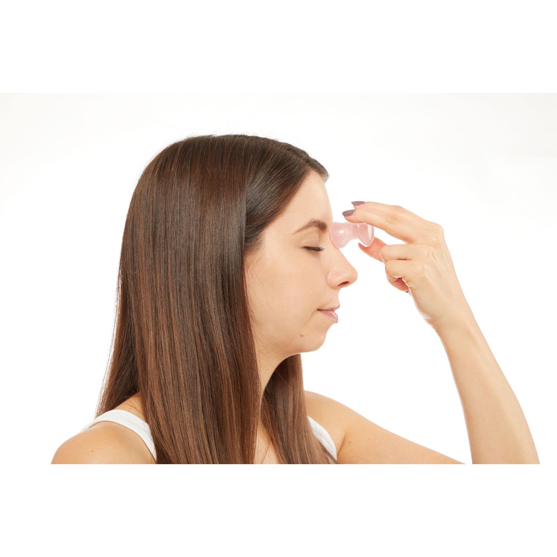 Rosenquarz-Massage-Stein, Produktbild 4