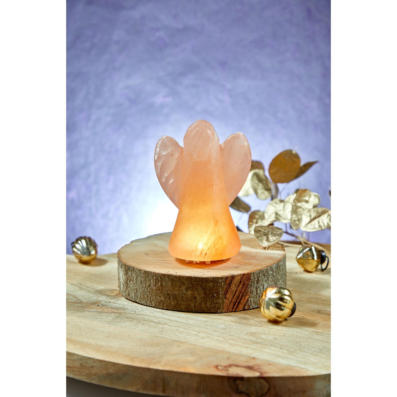 Beleuchteter Salzkristall-Engel, Produktbild 3