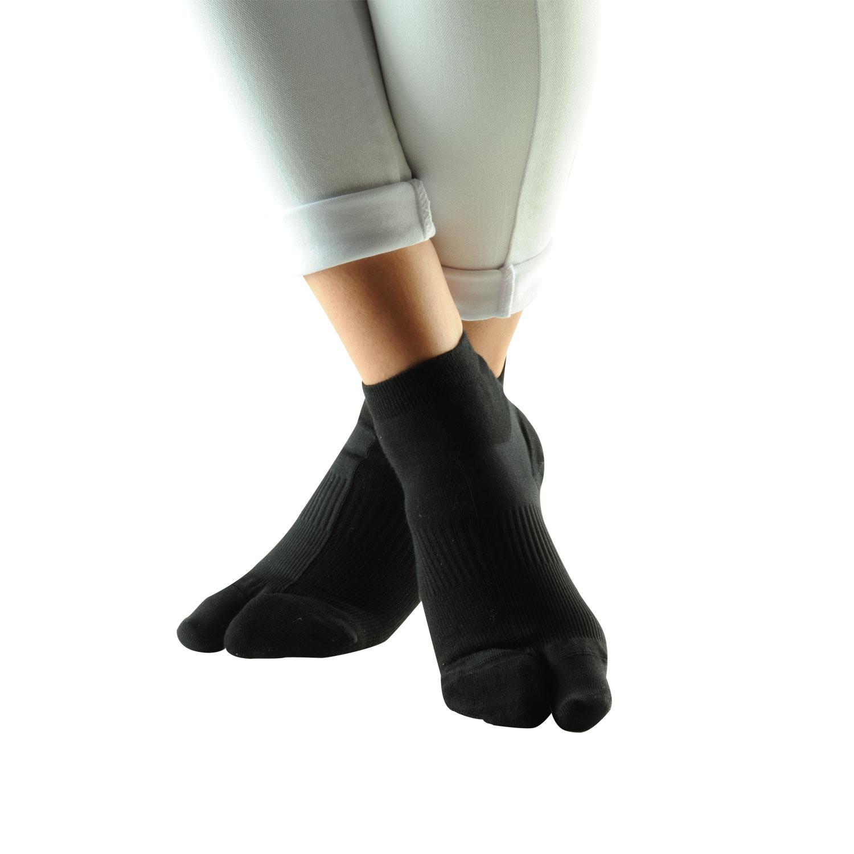 Hallux-Valgus-Socken , Schwarz, Produktbild 1