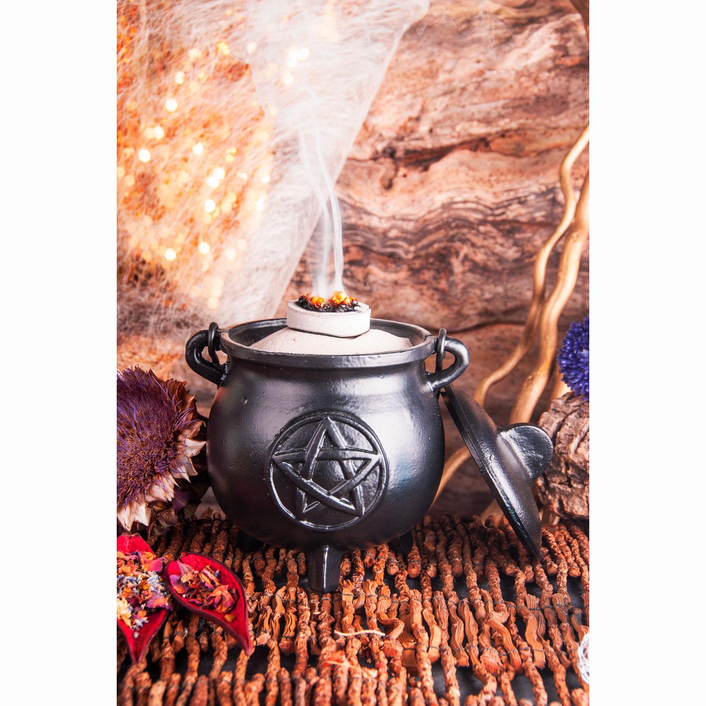 """Großer Hexenkessel """"Pentagramm"""", Produktbild 2"""