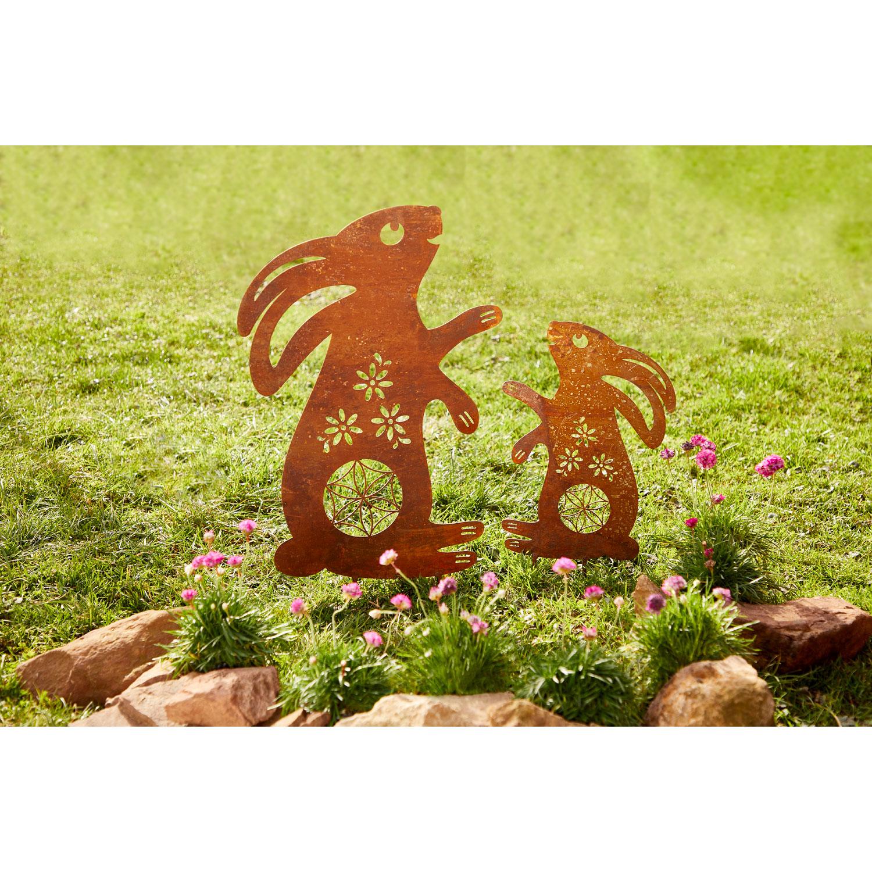 """Gartenstecker """"Hase"""", Produktbild 3"""
