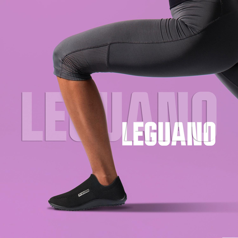 "Leguano® Barfußschuh ""Slipper scio"", Schwarz, Produktbild 3"