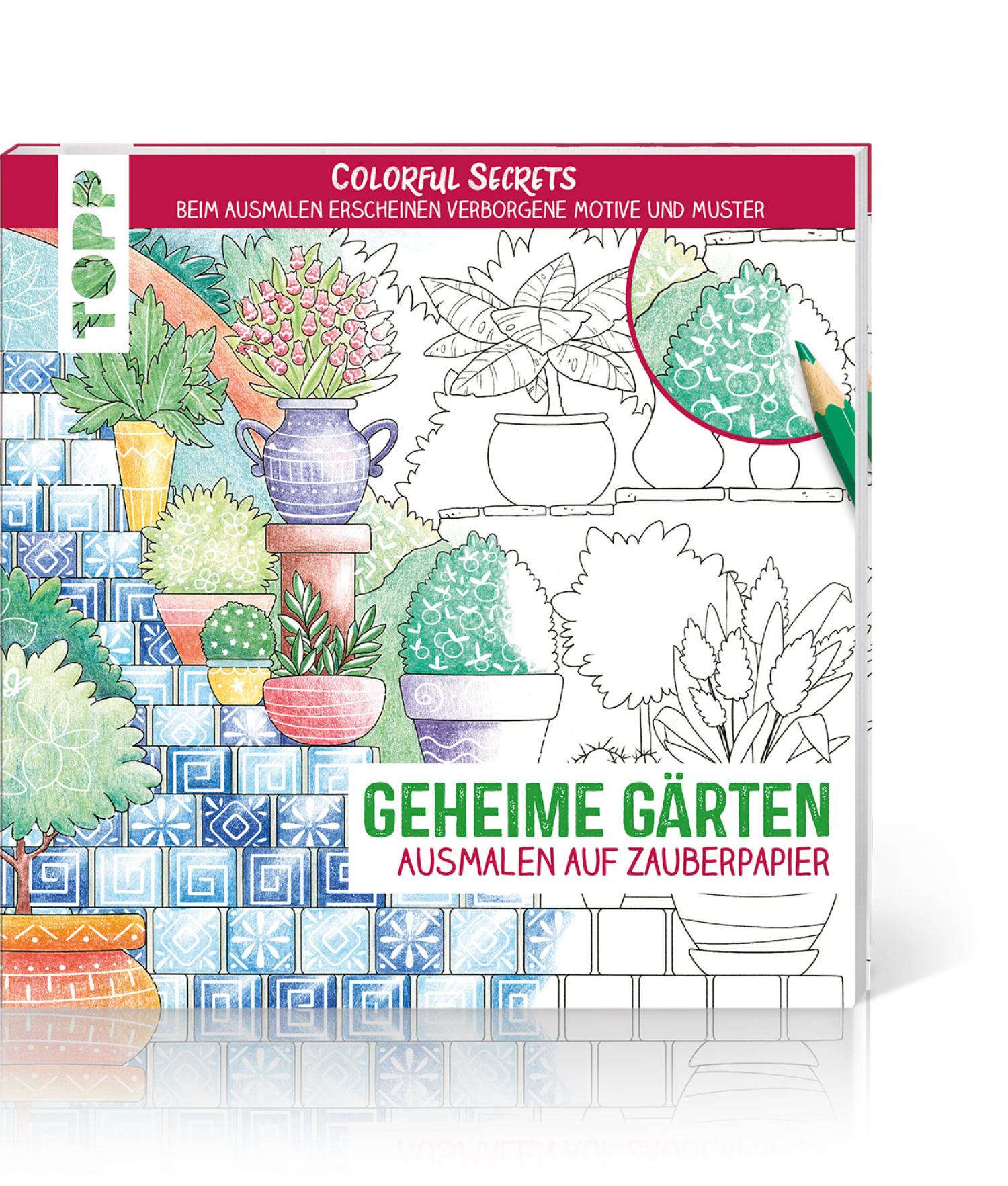 Colorful Secrets – Geheime Gärten, Produktbild 1