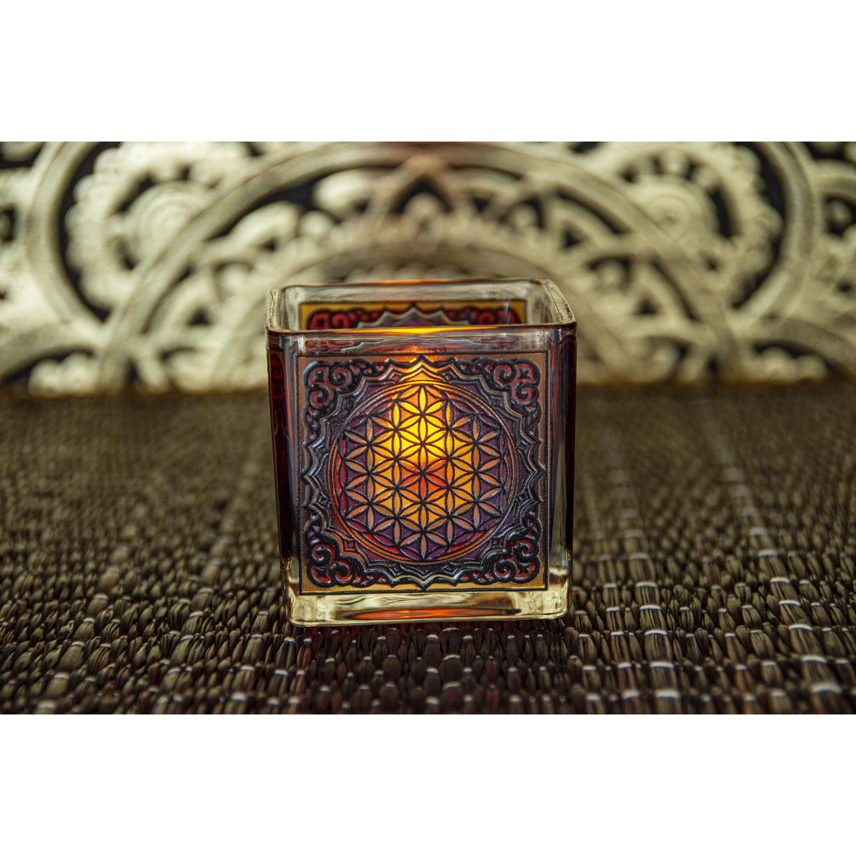 """Teelichthalter """"Blume des Lebens"""", Produktbild 2"""