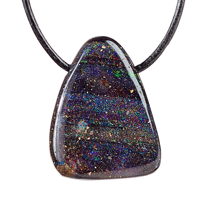 Anhänger Schwarzer Opal, Produktbild 1