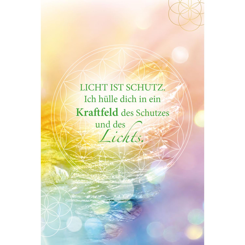 Erzengel Raphael und die heilenden Kräfte des grünen Strahls (Kartenset), Produktbild 5