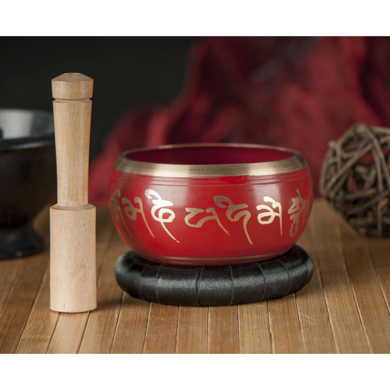 """Tibetische Klangschale """"Lotus"""", Produktbild 2"""