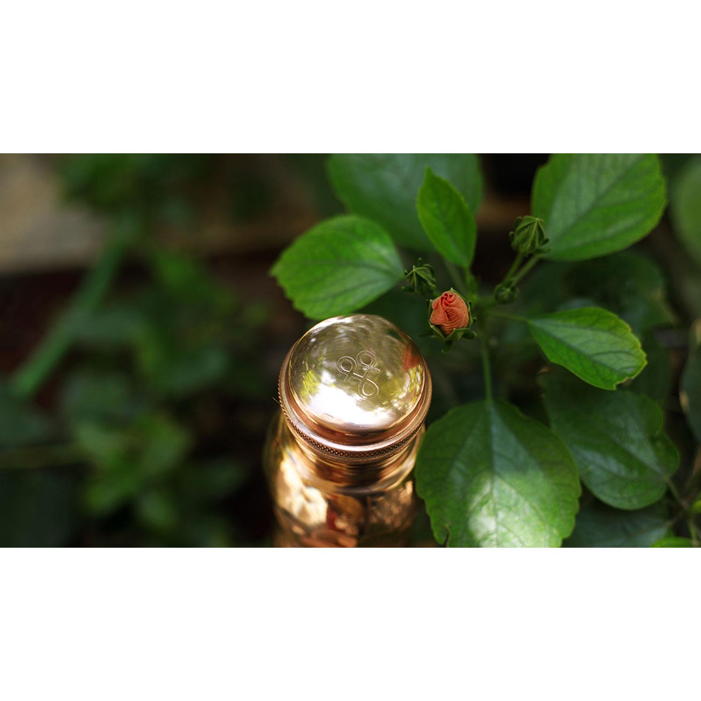 """Kupfer-Wasserflasche """"Diamant"""" , Produktbild 5"""