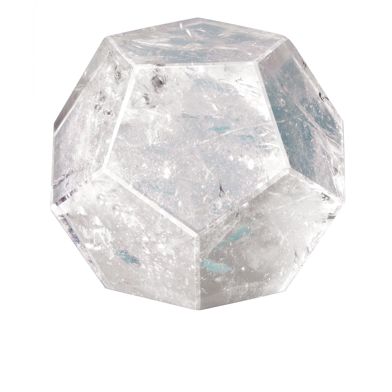 Dodekaeder aus Bergkristall, Produktbild 1