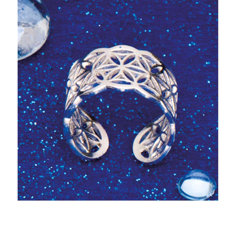 "Ring ""Blume des Lebens"", Produktbild 1"