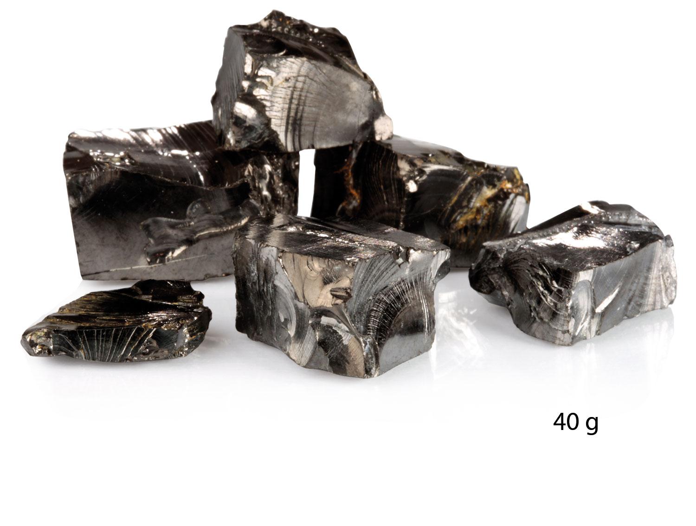 Edel-Schungit-Kristalle, Produktbild 3