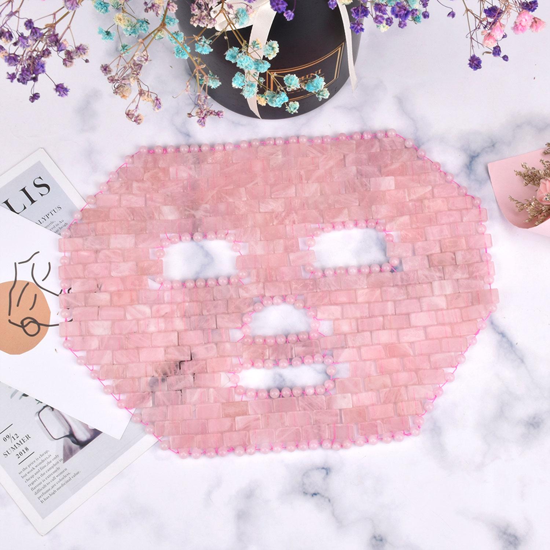 Rosenquarz-Gesichts-Maske, Produktbild 2