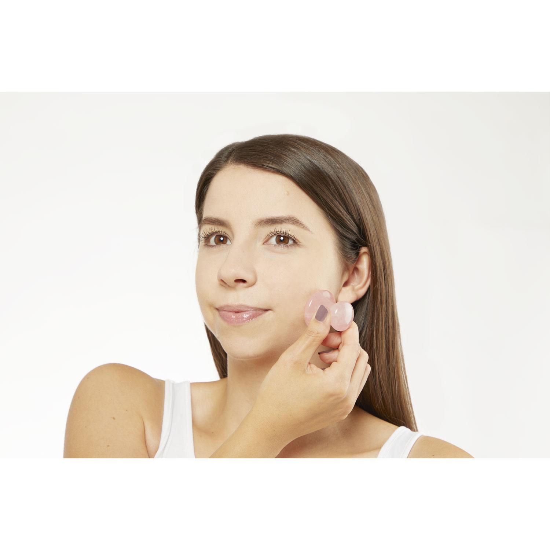 Rosenquarz-Massage-Stein, Produktbild 3