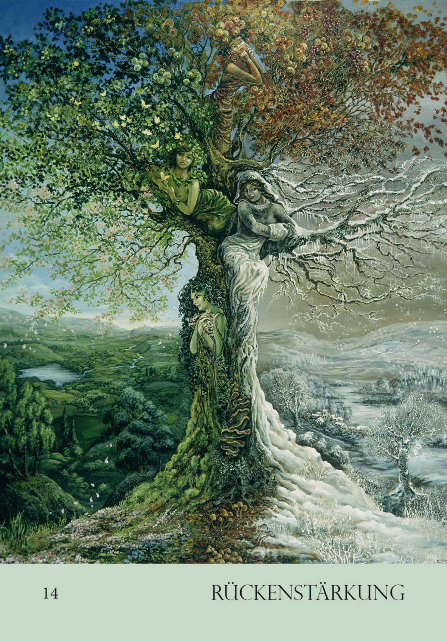 Das Naturgeister-Orakel (Kartenset), Produktbild 3