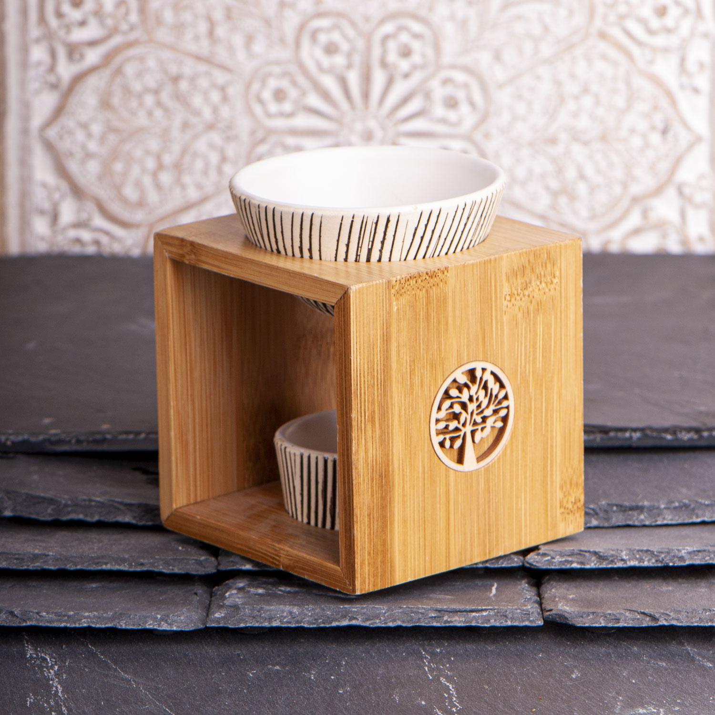 "Bambus-Aromalampe ""Yggdrasil"", Produktbild 3"