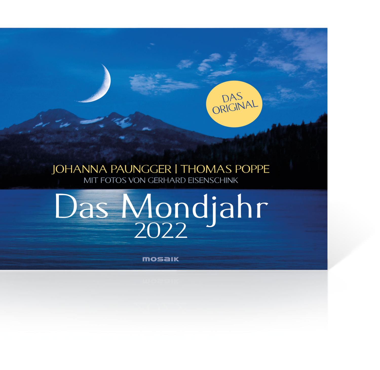 Das Mondjahr 2022 – Wandkalender, Produktbild 1