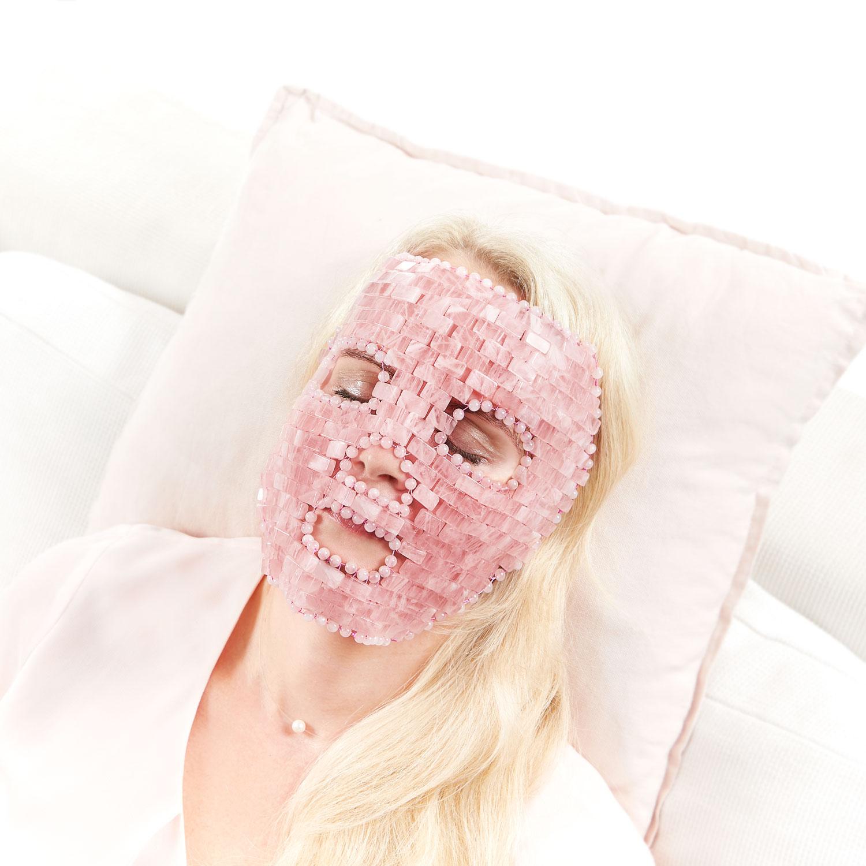 Rosenquarz-Gesichts-Maske, Produktbild 6