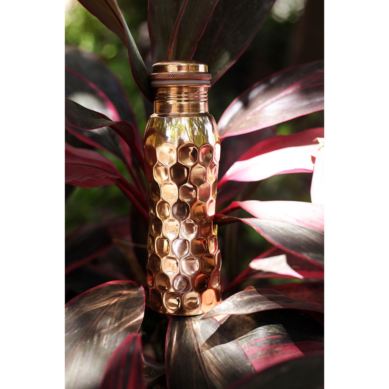 """Kupfer-Wasserflasche """"Diamant"""" , Produktbild 3"""