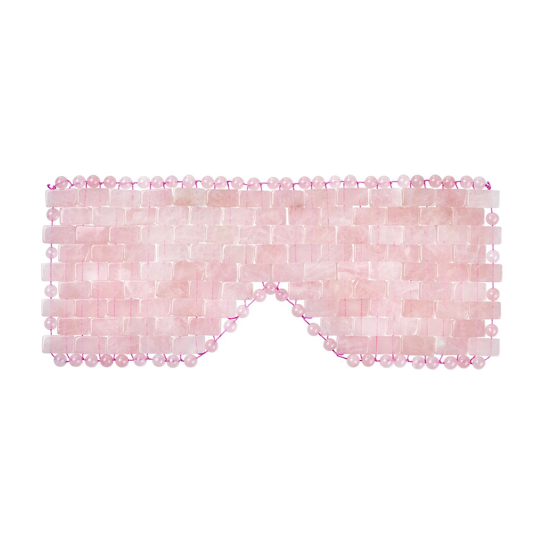 Rosenquarz-Augenmaske, Produktbild 1