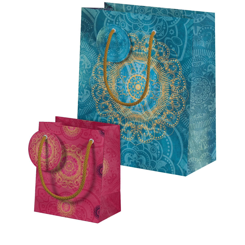 """Geschenktüten-Set """"Der Zauber Indiens"""", Produktbild 1"""