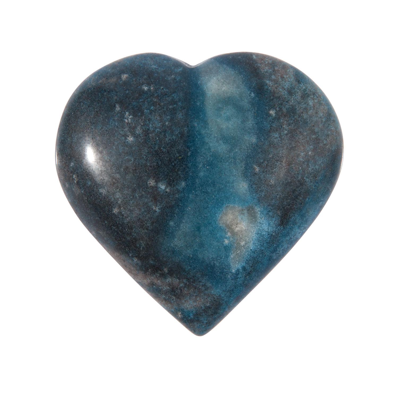 Blauer Aventurin-Herz-Handschmeichler, Produktbild 1