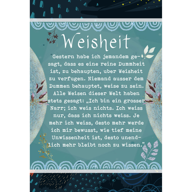Weisheiten für Dich! (Kartenset), Produktbild 4