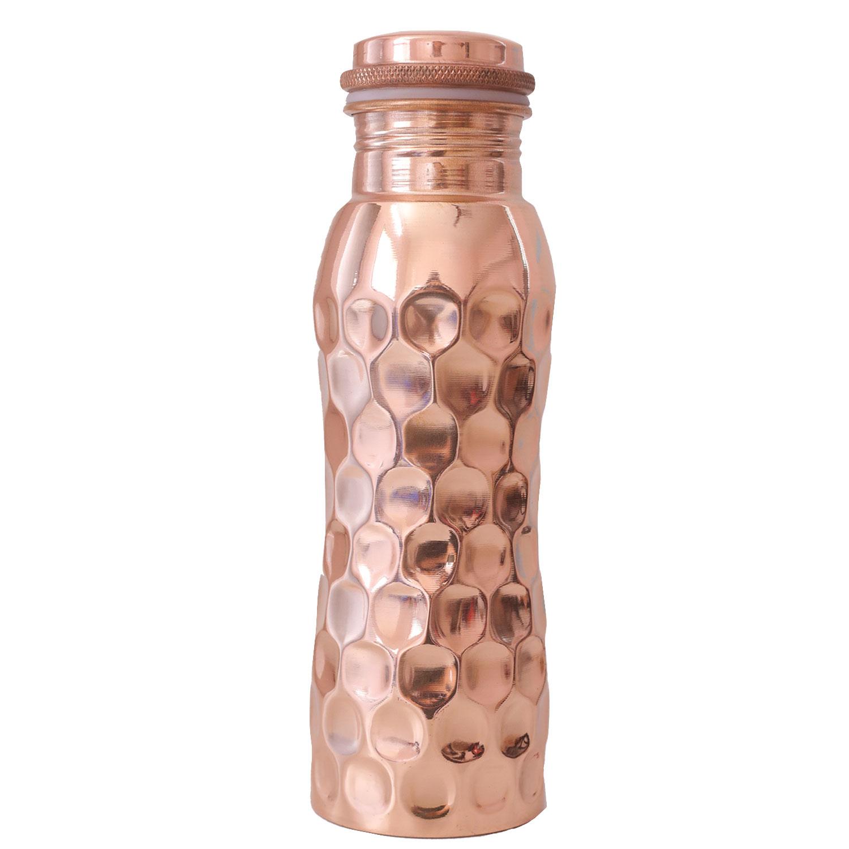 """Kupfer-Wasserflasche """"Diamant"""" , Produktbild 1"""