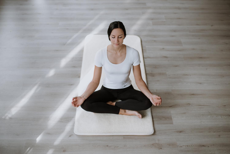 Merino-Yoga-Matte, Produktbild 2