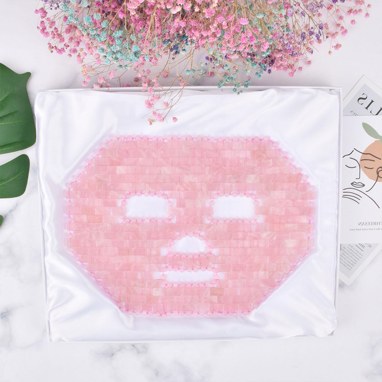 Rosenquarz-Gesichts-Maske, Produktbild 4