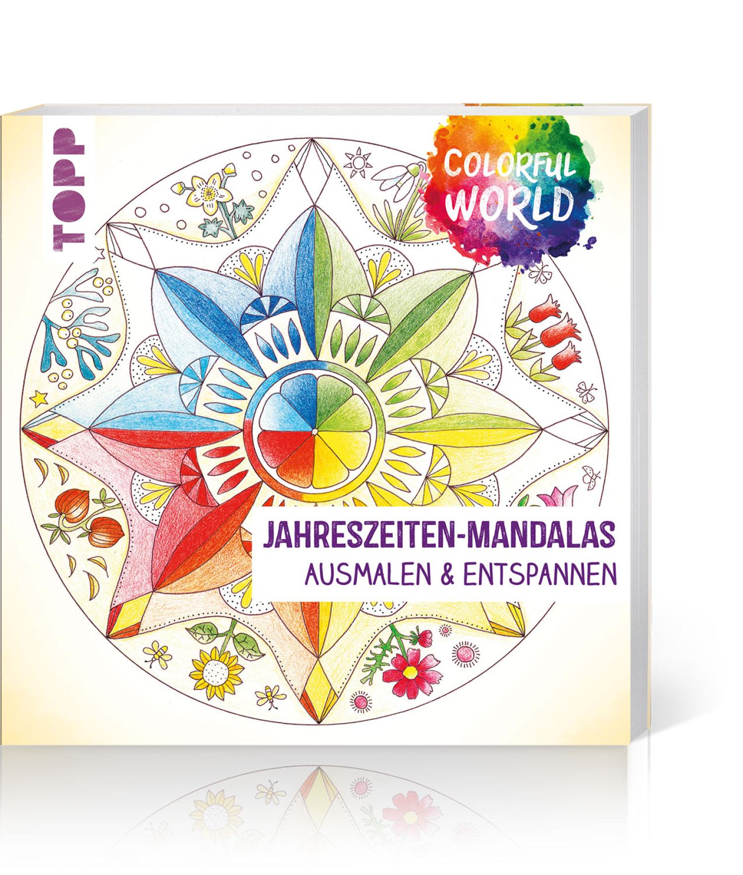 Colorful World – Jahreszeiten-Mandalas, Produktbild 1