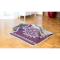 """Haustier-Decke """"Blume des Lebens"""", Violett/Hellgrau, Produktbild 2"""