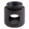 Keramik-Aromalampe, schwarz, Produktbild 1