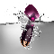 "Vibrator ""Violettes Herz"", Produktbild 2"