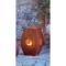 """Edelrost-Laterne """"Saat des Lebens"""", groß, Produktbild 2"""